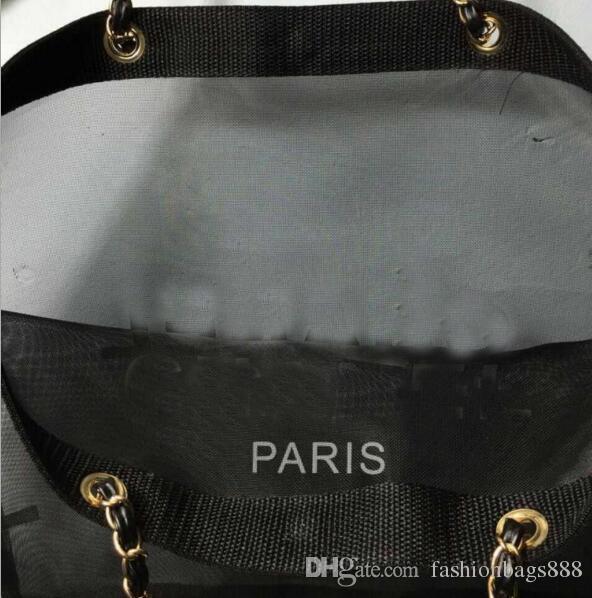 Mode Mesdames Transparent Mesh Chaîne Sacs À Bandoulière Designer Marque Femmes Luxe Shopping Sacs À Main Parti Fourre-tout Sacs