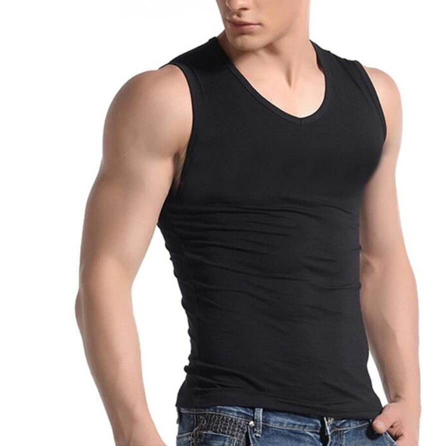 96c8dc571e5 2019 2017 Men Boy Body Compression Base Layer Sleeveless Summer Vest  Thermal Under Top Tees Tank Tops Fitness Tights High Flexibility From  Jujubery