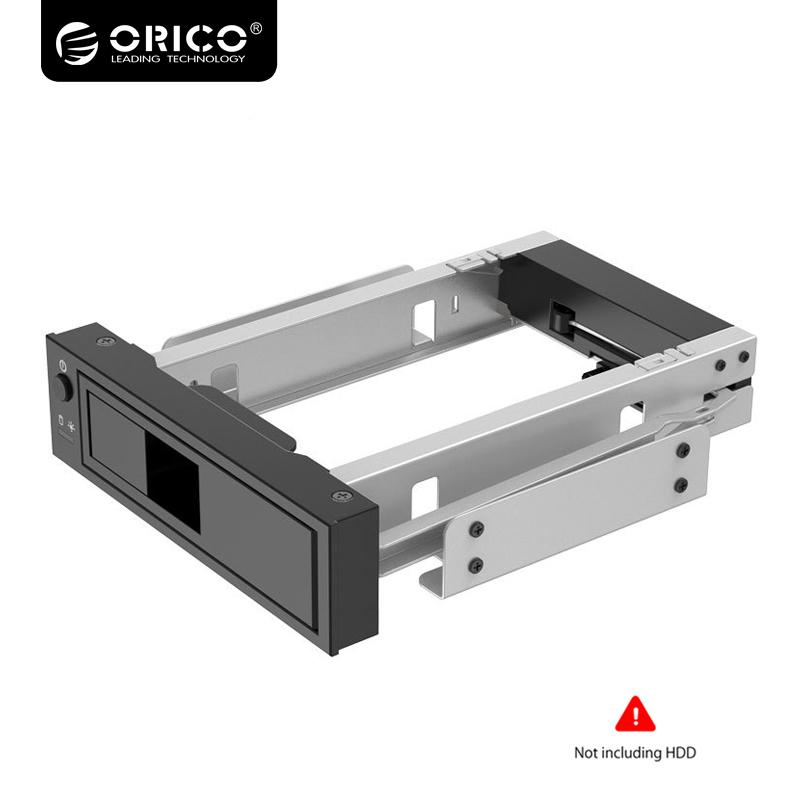 ORICO 3.5 inch SATA HDD Frame Mobile Rack Internal HDD Case CD-ROM Space Tool Free Design Support MAX 6TB (1106SS)