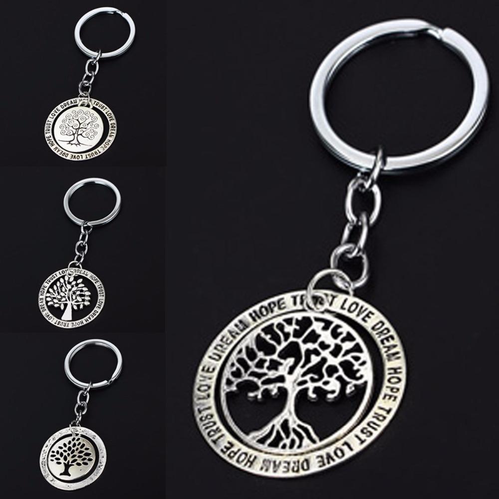 Fashion Tree Of Life Charms Keychain Key Chain Women Men Jewelry Bag  Accessories Keyring For Men Gifts Souvenir Car Keyfob Leather Tassel  Keychain Plastic ... ecd0c81698e82