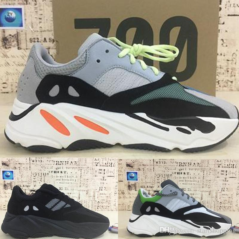 1ed47aa52fb4a 2019 700 Runner Shoes New Kanye West Wave Mens Women Athletic Best Quality  700s Sports Running Sneakers Best Athletic Shoes 40 46 With Box From ...