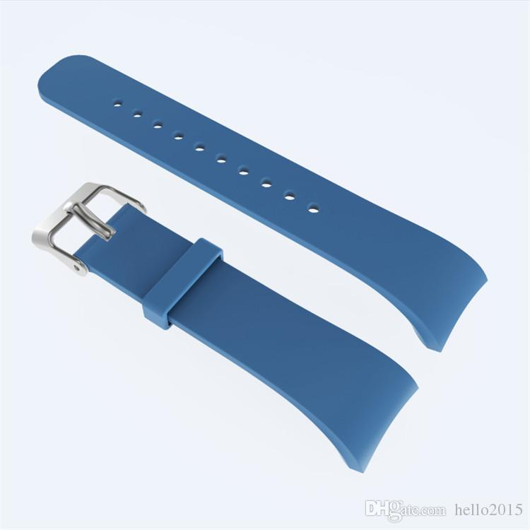 L/S Silicone Wrist Band Strap for Samsung Gear Fit2 SM-R360 SmartWatch Strap Wristband for samsung Fit 2 Pro WatchBand