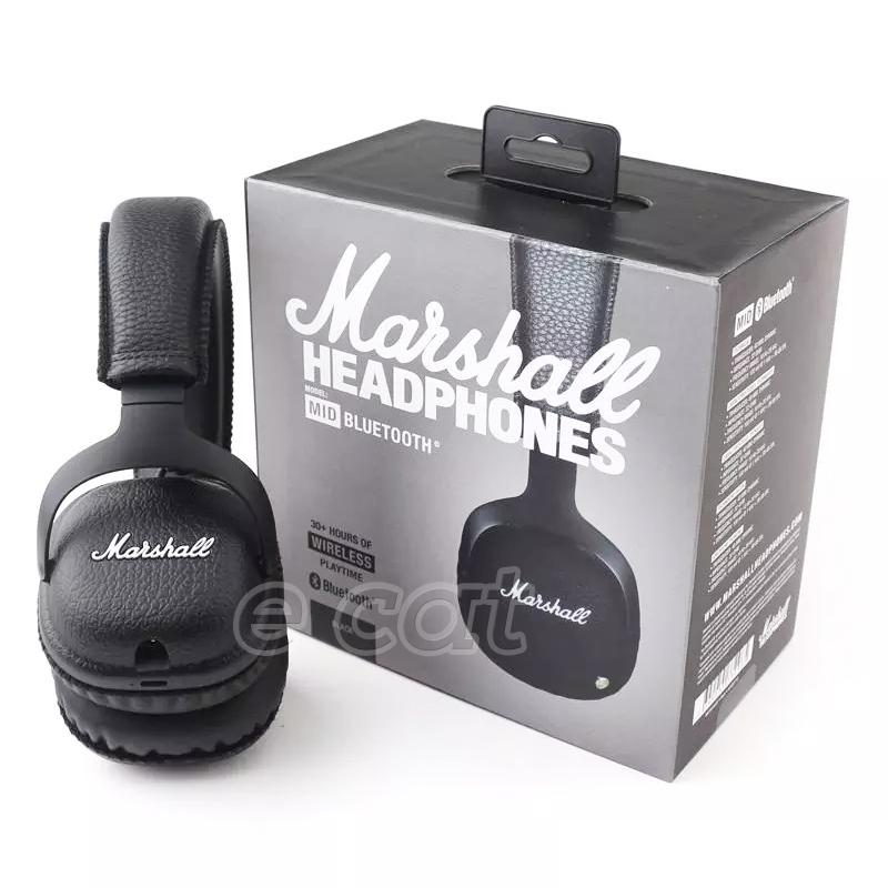 Acquista Marshall MID Cuffie Bluetooth Con Microfono Deep Bass DJ Hi Fi  Cuffie Professionali Marshall Cuffie Cuffie Wireless A  63.32 Dal E cat  e07c11d8aa7f