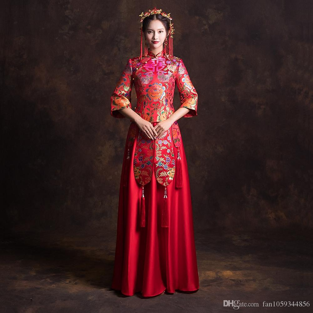 2018 Wedding Dress, Bride, New Style, Marriage, Chinese Style ...