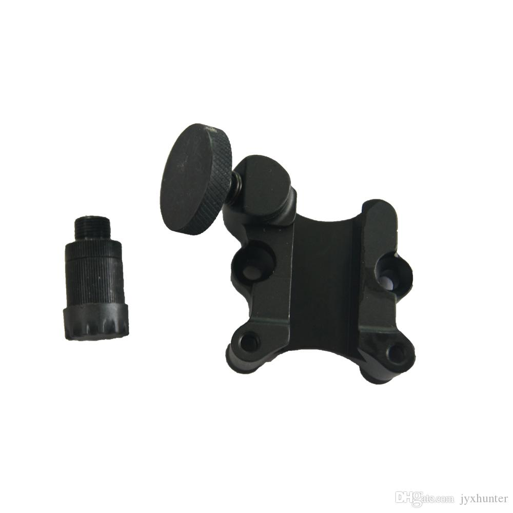 """1 pk compound bow sights 7 pins for hunting 0.019"""" glass fiber pins ,Micro adjust,metal detachable bracket"""