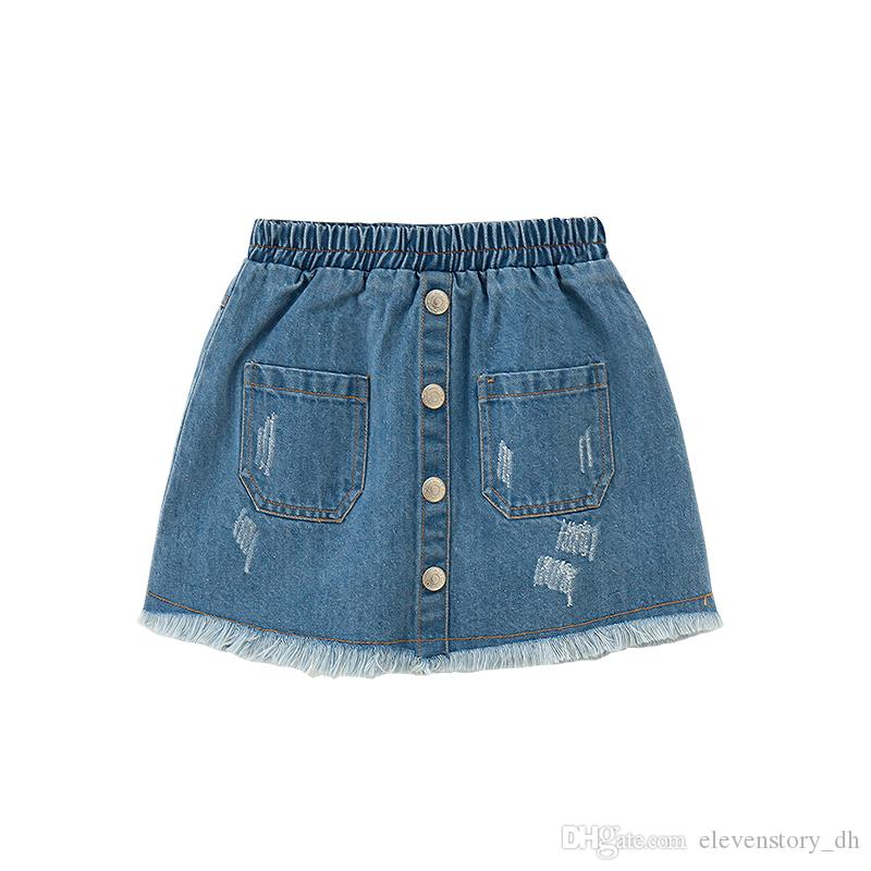 4ed91a99963b 2019 6 To 14 Years 2018 Summer Girls Skirts