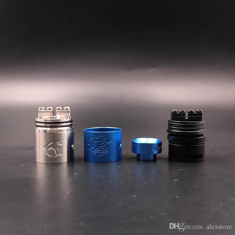 LostArt Edition Goon V 1.5 RDA Clone Replaceable Dripping Atomizers 24mm 528 Goon Lost Art V1.5 Fit 510 Vape Mod