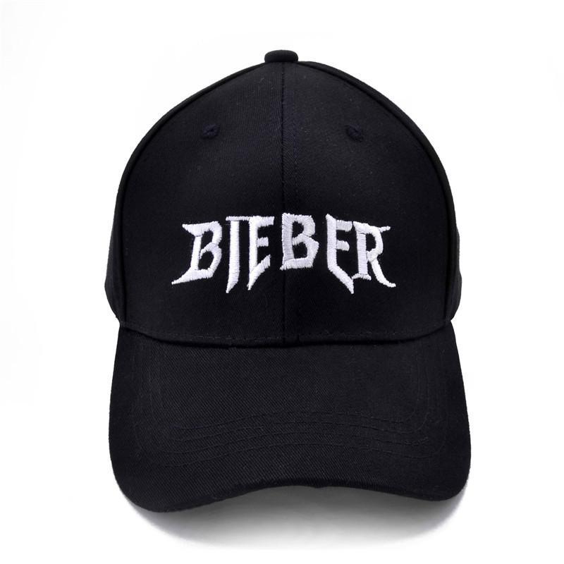 01cef197b54 Justin Bieber Baseball Caps Summer Cotton Men Women Snapback Bieber Dad Cap  Adjustable Cap Men Online with  9.29 Piece on Qupeng9165 s Store