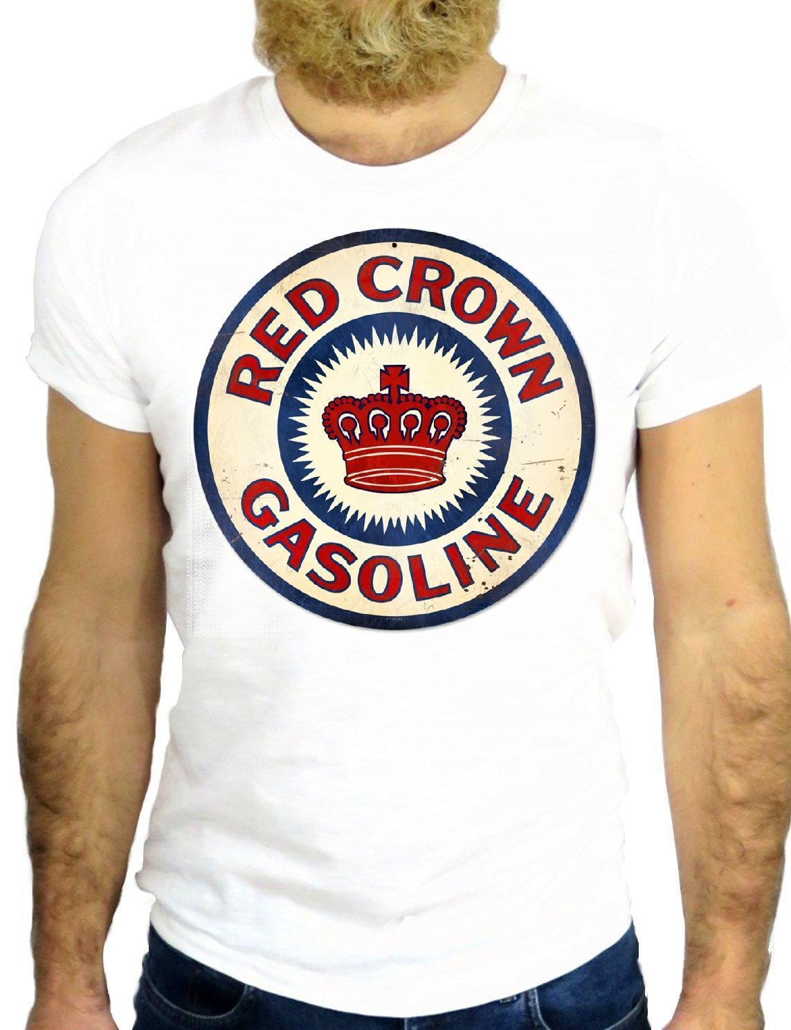 38a14d8bea4f99 T SHIRT JODE Z1295 CROW GASOLINE LOGO VINTAGE RED NICE COOL AMERICA NEW  YORK GGG T Shirts Design Designer T Shirts From Crazytshirts30