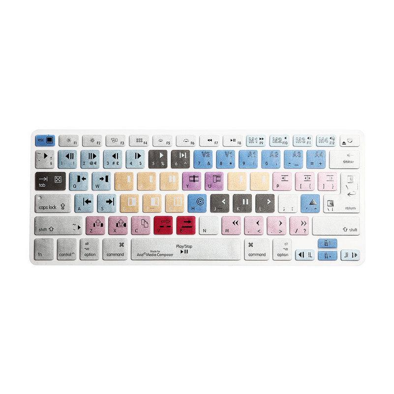 Keyboard Cover Avid Media Composer Shortcut Printed Cover for MacBook Air  Pro Retina 13 15 17 iMac Wireless & MacBooks