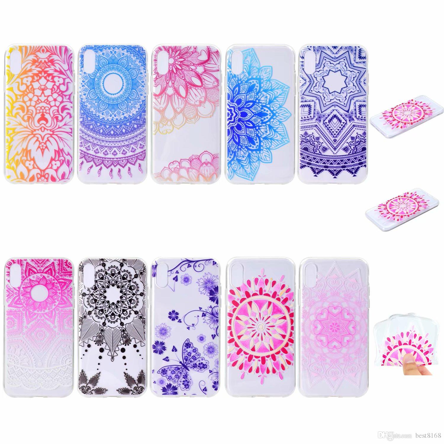 Soft Tpu Case For Galaxy Note9 Iphone Xr Xs Max Huawei P20 Lite Pro Casing 4 4s Softcase Motif Owl Lace Flower Dreamcatcher Silicone Butterfly Gradient Mobile Phone Covers Customize