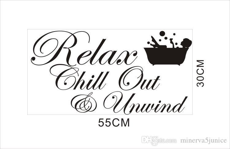 Christmas Quotes And Sayings Glitter Sticker Decal: Acheter Date Relax Chill Out Dénouer Vinyle Citations De