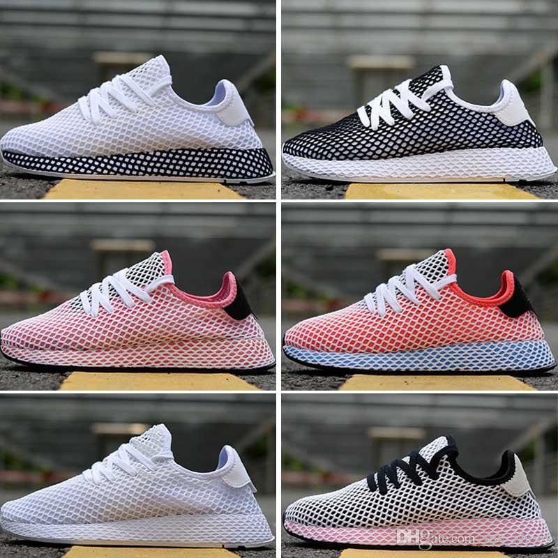 d51241ae0 Compre 2018 DEERUPT RUNNER Sapatos Pharrell Williams 3 Stan Smith Tênis HU  KPU Desenhador Mens Womens Running Zapatos Homem Formadores Tênis  Chaussures De ...