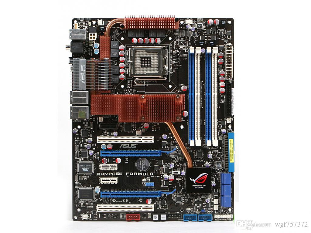 Para ASUS RAMPAGE FORMULA Soquete LGA775 ATX Desktop MotherBoard Intel X48 Systemboard