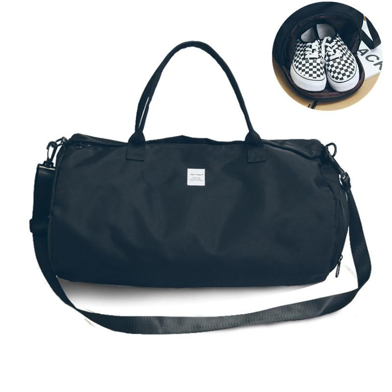 4b872529a5 2019 Oxford Women S Travel Bags Yoga Gym Bag For Fitness Shoes ...