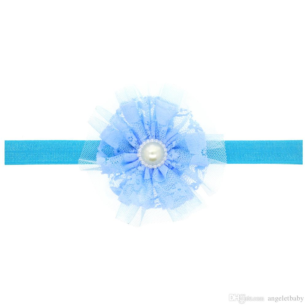 Baby Girls beautiful Flower Headbands Elastic Headband Children Hair Accessories Headwear Photography H045