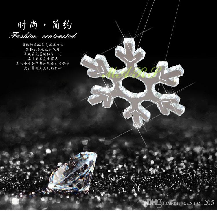New style shining snowflake chandelier indoor crystal led cord new style shining snowflake chandelier indoor crystal led cord pendant light dia520mm hanging lamp remote control snowflake pendant crystal cord pendant led mozeypictures Choice Image
