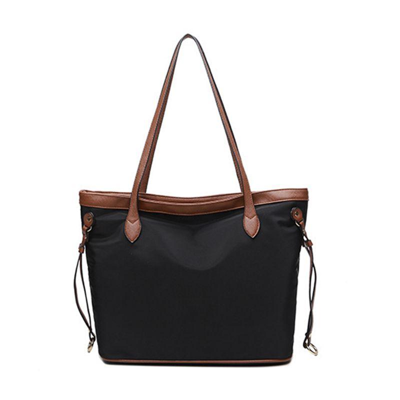 c905abca9a DIMINUTIIV 2018 New Collection Female Canvas Bag Casual Tote Women Handbag  Vintage Hobos Strap High Quality Zipper Shopping Bag Black Handbags Handbags  ...