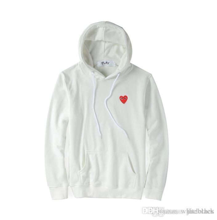 new product 5c160 0fc5b Pullover Sweatshirt Rotes Herz Männer Frauen Hoodies Pullover Hohe Qualität  Hip Hop Mann Hoodie Sportswear American Popular Hoodies Frauen Männer