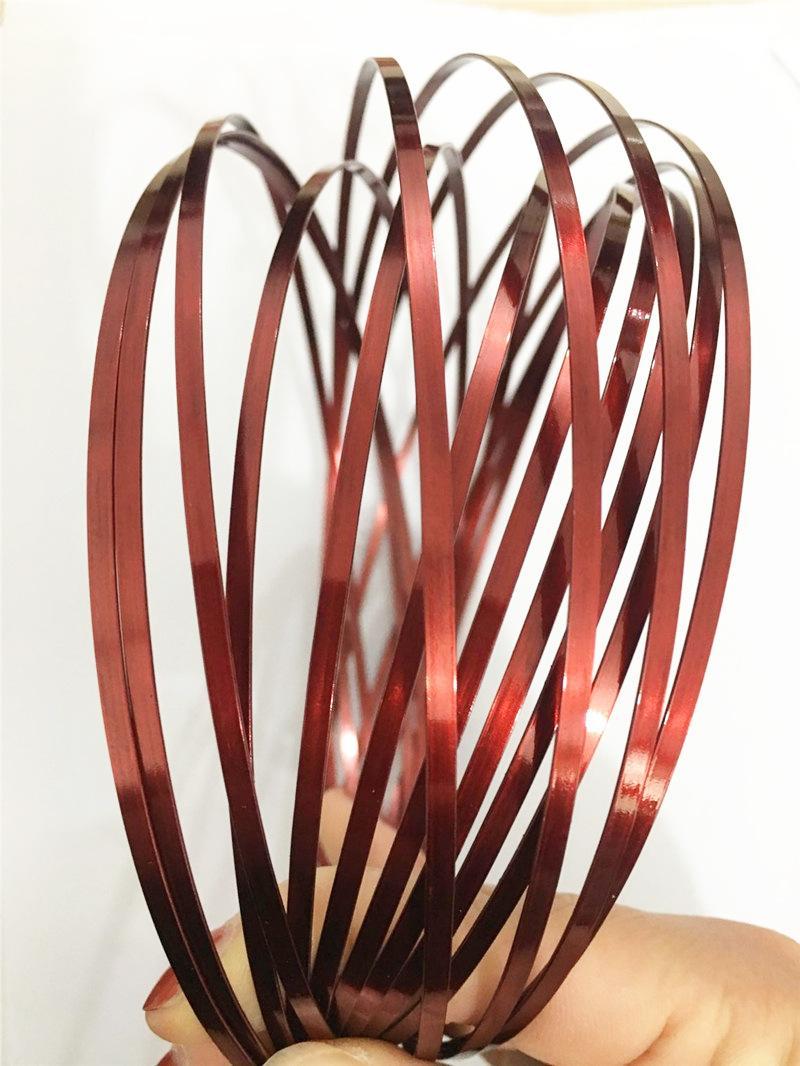 I migliori anelli di decomposizione anelli di flusso in metallo Toroflux Magic Ring olografico da mentre si muove crea un bracciale a flusso circolare