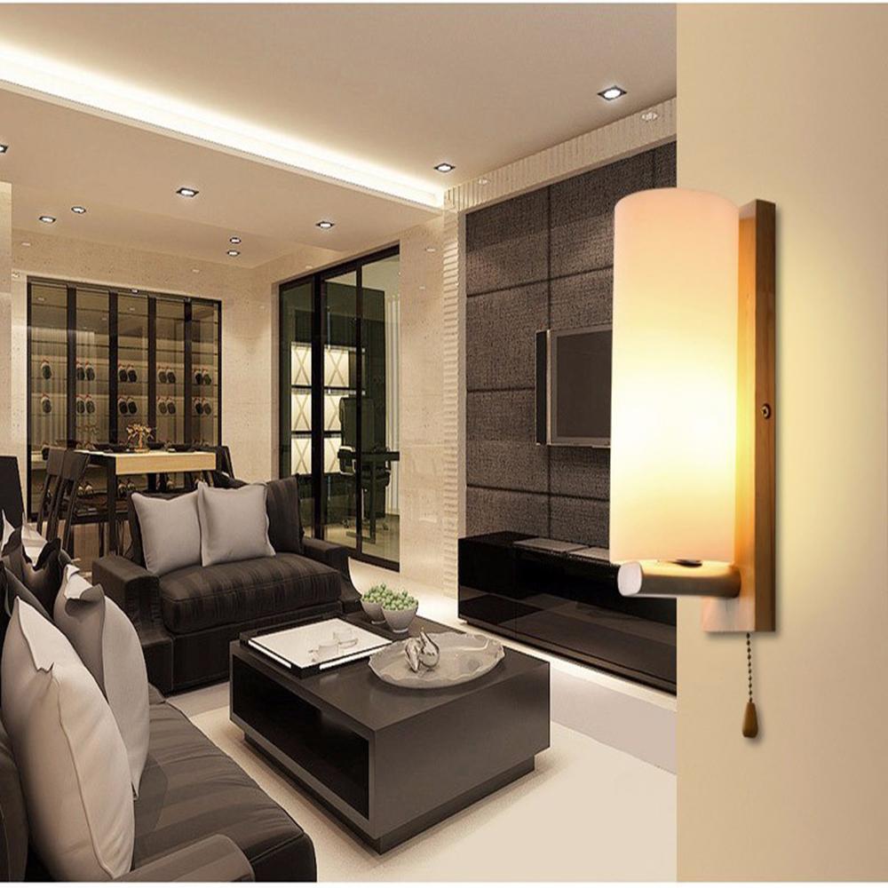 Acheter Led Applique Moderne Applique Escalier Luminaire Salon Chambre Lit  Chevet Éclairage Intérieur Pour Maison Couloir Loft Lampe De $43.49 Du ...