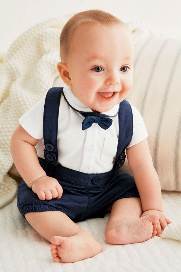 Новорожденный мальчик наряды милый хлопок футболки и комбинезоны набор для 0-24 м Детские футболки+короткие 2 шт. костюм детская одежда наряд
