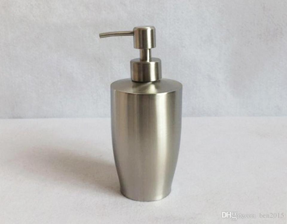 Acquista ml in acciaio inox cucina bagno mano liquido pompa