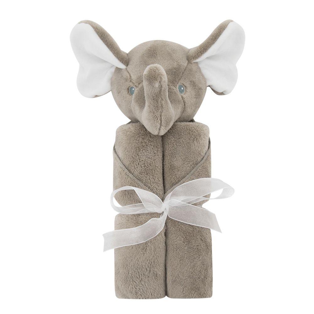 Kids Crystal velvet elephant Blankets Winter Warm rabbit bear Blankets infant Swaddling cartoon baby bed sheet Sleeping Bag 76*76cm C2217