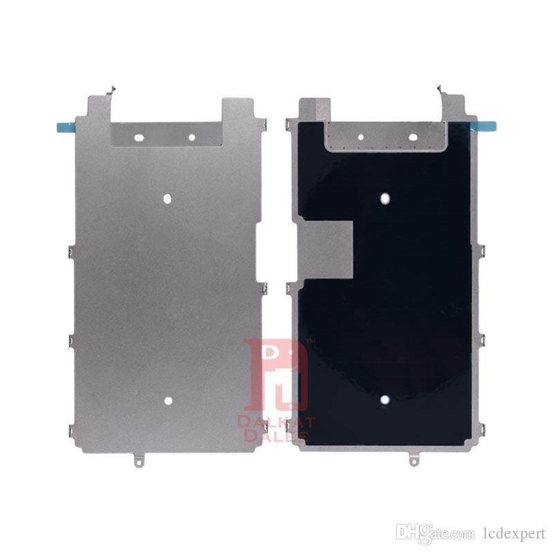 Placa de metal para iphone 6s lcd digitador de metal placa de volta escudo display lcd tampa de metal substituição de peças de reposição