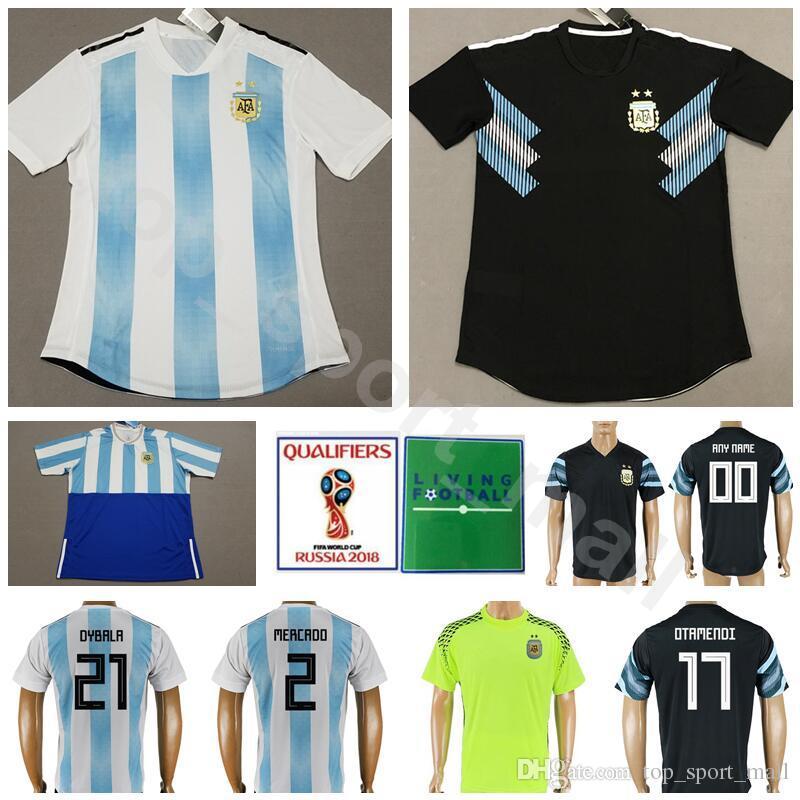 0faf9a0fa ... low cost 2018 argentina soccer jersey 2018 world cup men 5 biglia 7  banega 17 otamendi