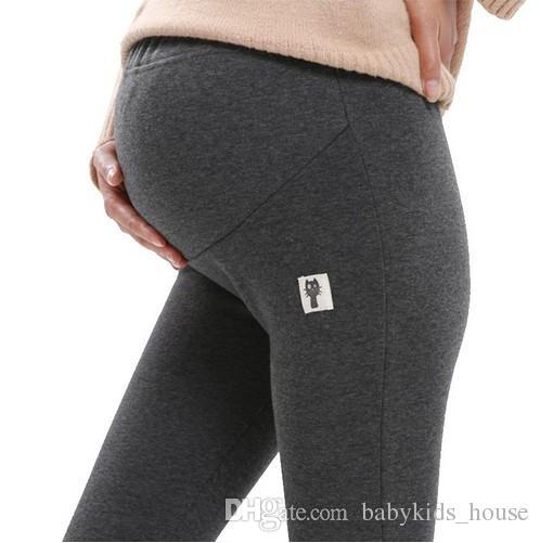 nuovo aspetto dal costo ragionevole pacchetto alla moda e attraente Nuove donne incinte Autunno Pantaloni Maternità Leggings Vestiti caldi  Sping Gravidanza Pantaloni Abbigliamento premaman