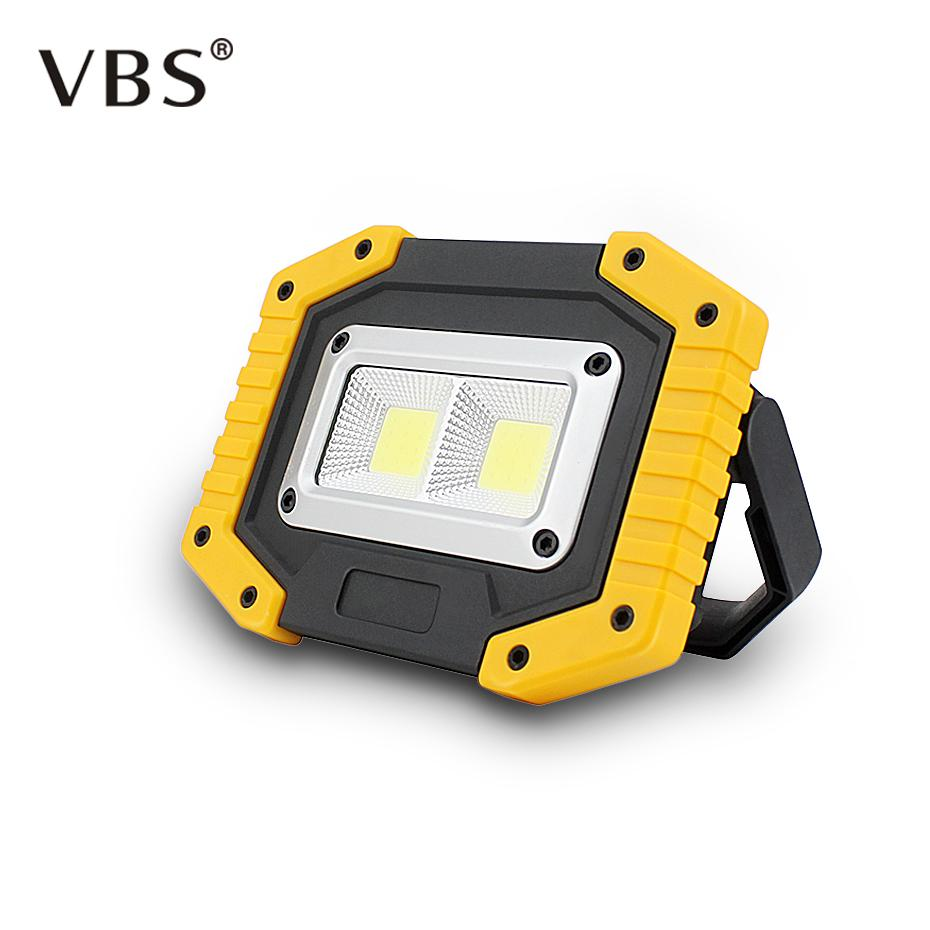 Security & Protection Solar Portable Rechargeable Emergency Searchlight Led Camping Light Outdoor Work Spot Lamp Access Control