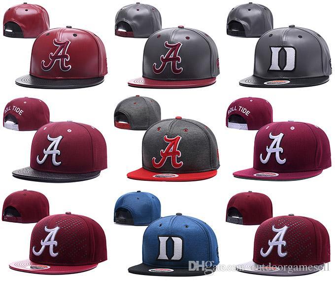 Ncaa Duke Blue Devils Snapbacks Mens Alabama Hats Reflective Design