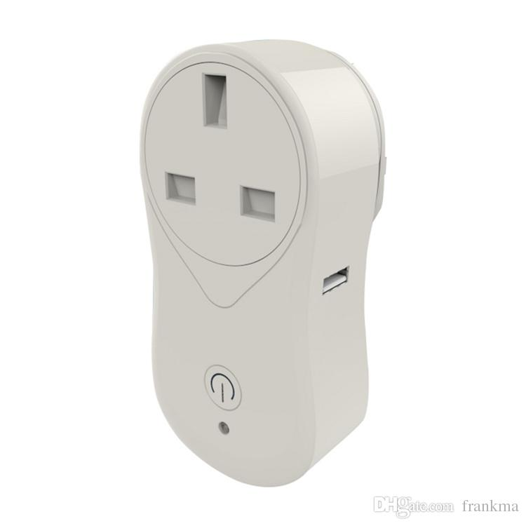 Smart Home Wifi Socket Outlet Power Us Uk Eu Plug Auto Timer Switch ...