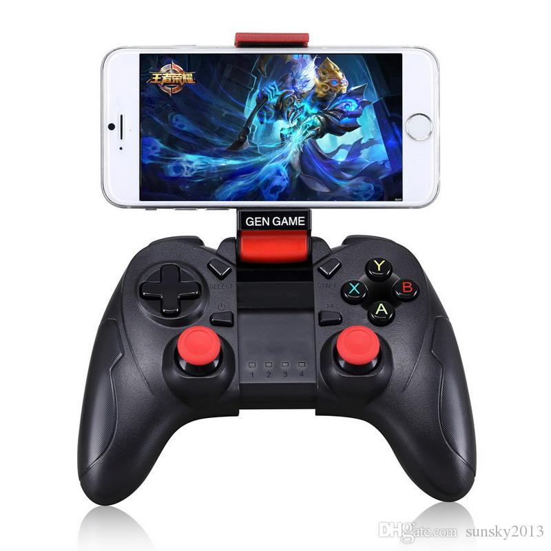 Gen Game Wireless Bluetooth Gamepad S6 Gaming Remote Controller For Android IOS Phone PC Smart Box Gaming Joystick