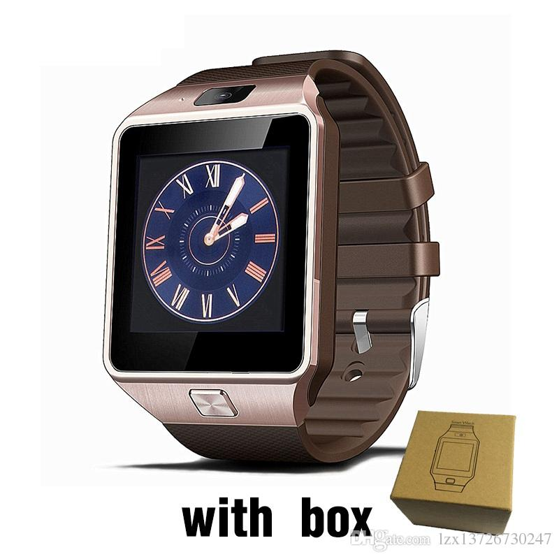 DZ09 Smart Uhr Bluetooth Wearable Devices Smartwatch für iPhone Android Phone Watch mit Kamera Uhr SIM / TF Slot