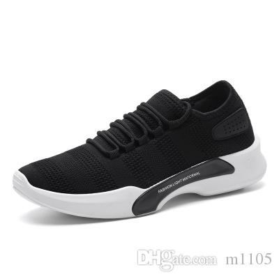 Spring and autumn new shoes fashion flying men's shoes casual sneakers