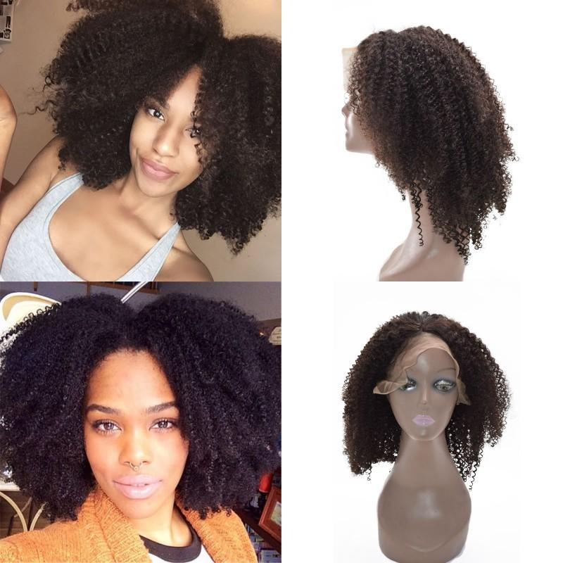Brazilian Curly Human Hair Wig For Black Women Afro Kinky Silk Top Lace Wig  With Baby Hair FDshine Curly Wigs Human Hair Velvet Remy Hair From ... 25f8181106