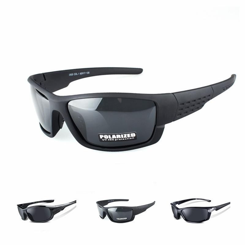 f8b36d0e40 Gafas De Ciclismo Polarizadas Bicicleta De Montaña Gafas De Sol Gafas MTB Motocicleta  Deportes Gafas Gafas De Estilo Negro Hombres Mujeres Por Cbaoyu, ...
