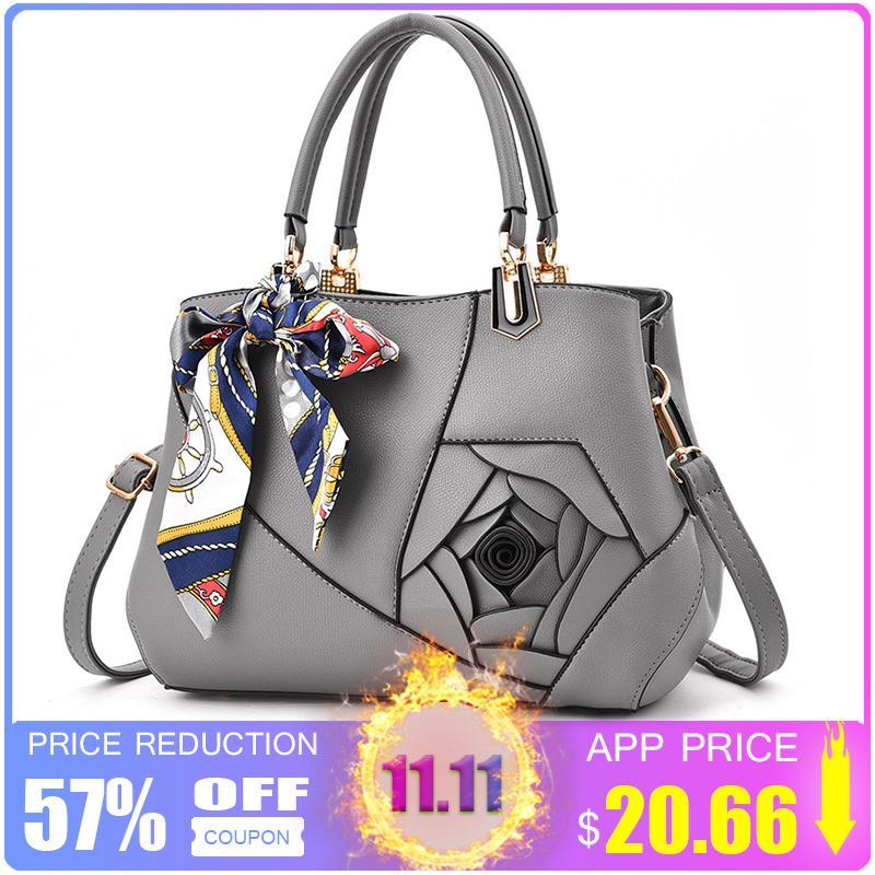 2019 Fashion ZMQN PU Leather Bags Handbags Women Famous Brands Scarves  Crossbody Bag For Women 2018 Luxury Handbags Women Bags Designer A902  Discount ... 4ffe8522e3c1c
