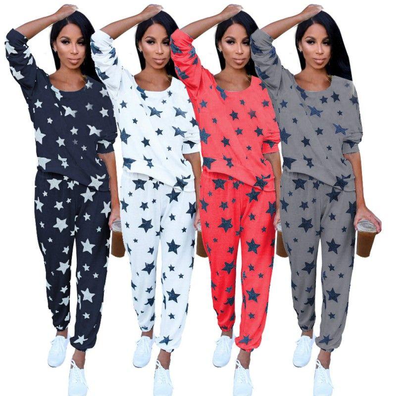 2019 YSMARKET Autumn Winter Pajamas Soft Comfortable Printing Home Suit  Women Clothing Cotton Sleepwear Plus Size Pajamas Set Two Piece E3315 From  ... 2eb749ab2
