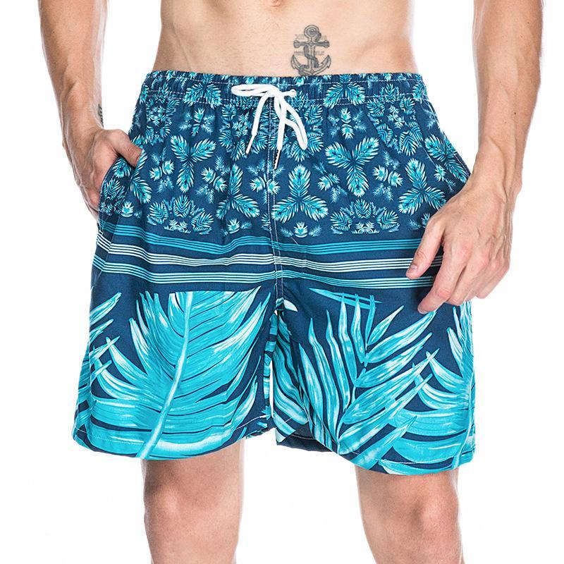 10a51984e9 Compre Verão Sexy Homens Swimwear Shorts Para Homens Plus Size Swim Cintura  Alta Masculino Praia Calções Frescos Para O Homem Troncos De Banho  Respirável De ...