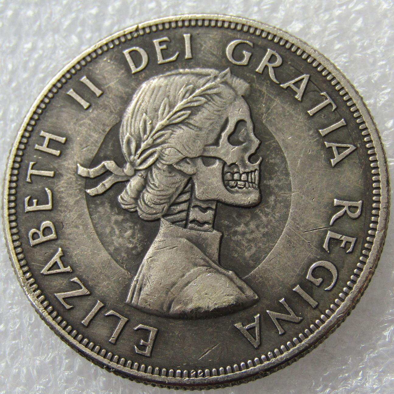 Großhandel Hobo Kanada 1962 1 Dollar Elizabeth Ii Dei Gratia Regina