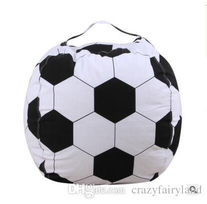 2018 Storage Bean Bag Football Chair Portable Bags Basketball Storage Stuffed 18inch Kids Toy Storage Bag Play Mat Clothes Home Organizer Tools From ...  sc 1 st  DHgate.com & 2018 Storage Bean Bag Football Chair Portable Bags Basketball ...