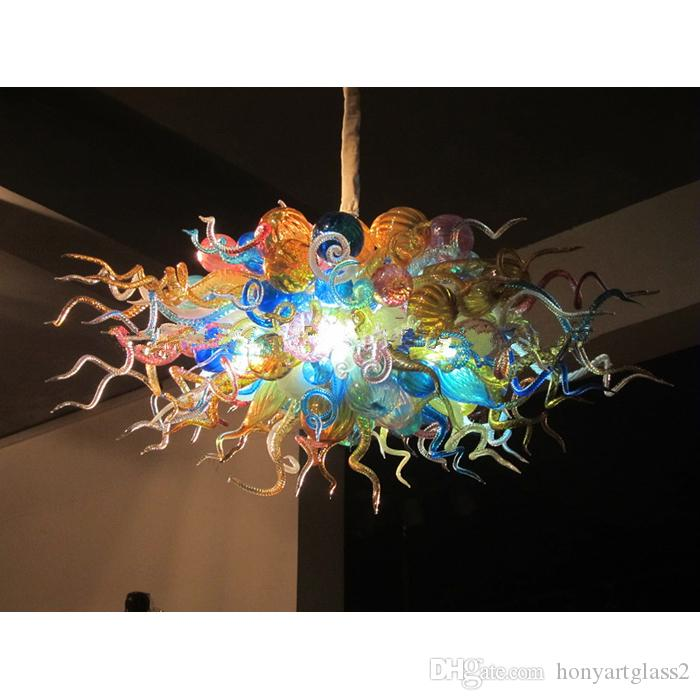 Colorful Murano Glass G9 LED Bulbs for Home Chandelier Energy Saving Lighting 18W Warm White Lamp