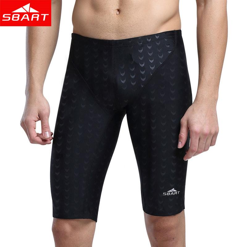 ac24542191 2019 Sbart Hot Swimwear Men Competitive Swim Briefs Trunks Male Swimsuit  Racing Jammers Sharkskin Swimming Board Shorts Plus Size 5xl From Netecool,  ...