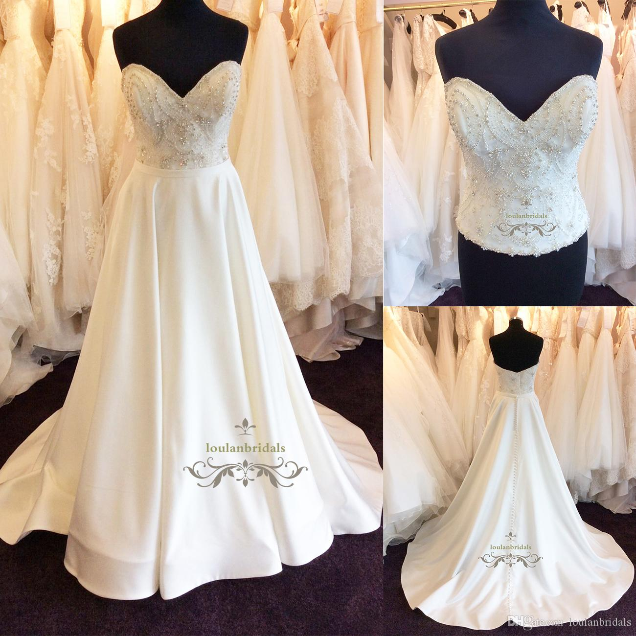 Discount Separates Gorgeous Wedding Dress Modesty Corset Bodice ...
