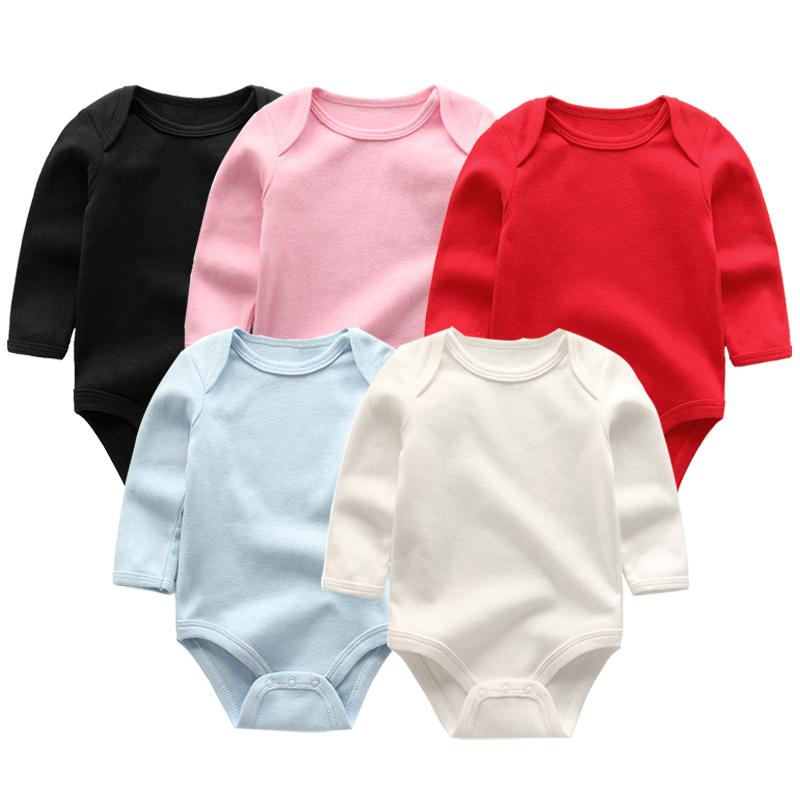 55daf8352 2019 Baby Girl Boys Romper Newborn Sleepsuit 2018 Infant Baby ...