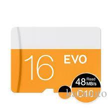 2018 새로운 오렌지 EVO 64GB 128GB C10 TF 플래시 메모리 카드 클래스 10 무료 SD 어댑터 소매 블래스터 패키지 Epacket DHL 무료 배송