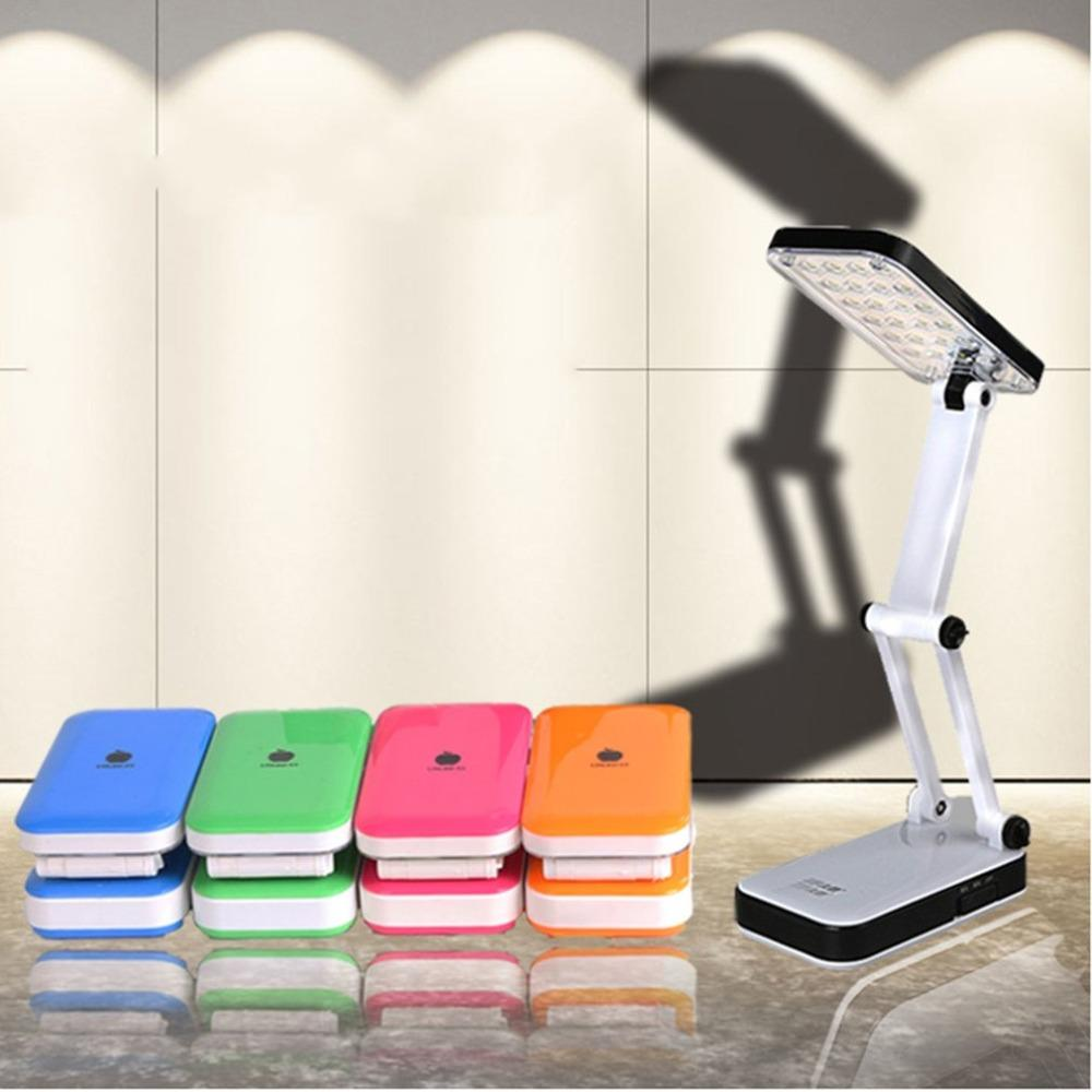 Foldable Writing Rechargeable Led Lighting Leds Desk Student 24 Dormitory Table Lamp Folding Reading NPwZ0Okn8X